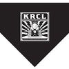 KRCL Puppy Pack (Bandana) - Available for a donation of $300 or more ($25/month) and includes a folding travel dish, a bandana, leash, and KRCL hat.