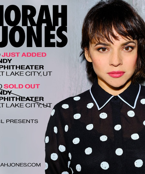 KRCL Presents: Norah Jones, July 19 & 20 at the Sandy Amphitheater // Sold Out