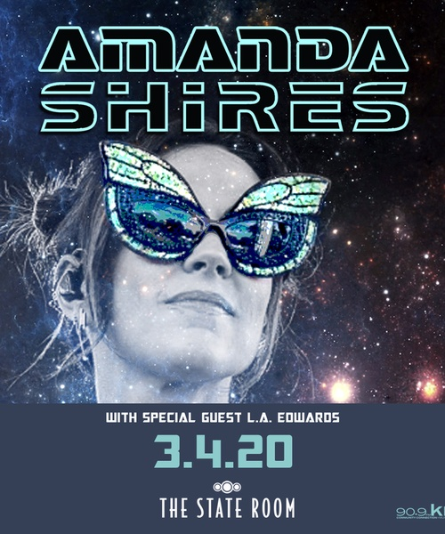 KRCL Presents: Amanda Shires on March 4 at The State Room