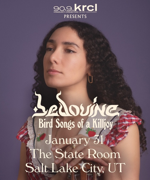 KRCL Presents: Bedouine on Jan 31 at The State Room