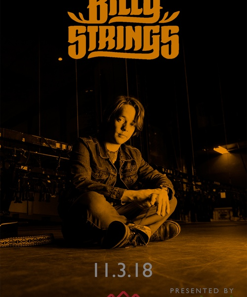 Bluegrass Express Presents: Billy Strings at The Commonwealth Room on Nov 3