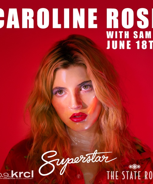 KRCL Presents: Caroline Rose with Samia at The State Room June 18