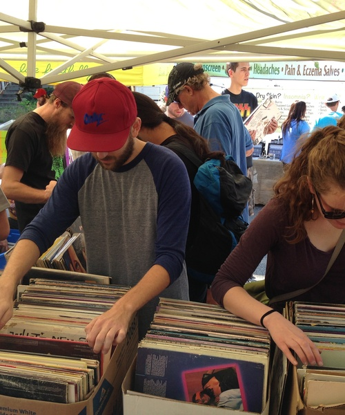 Attention Crate Diggers: KRCL's Annual Record & CD Sale