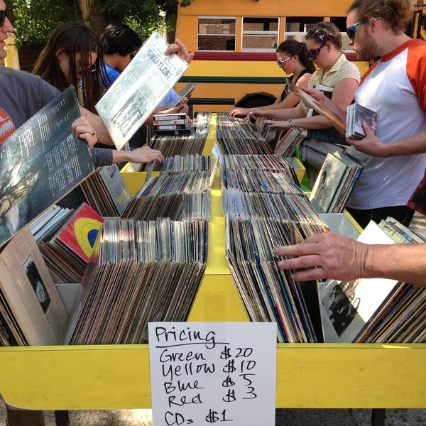 Donate your once-loved CDs and Records