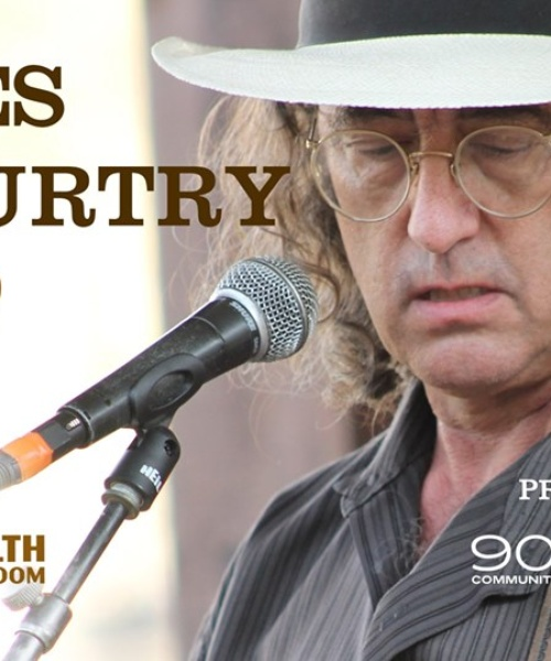 James McMurtry at The Commonwealth Room on Aug 15