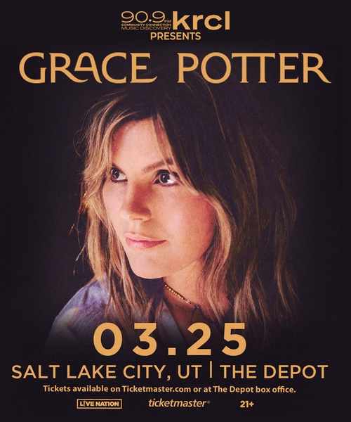 KRCL Presents: Grace Potter at The Depot on March 25