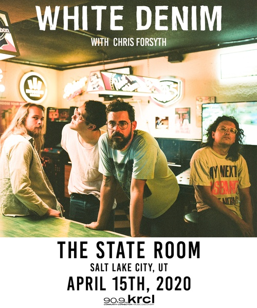 KRCL Presents: White Denim at The State Room April 15