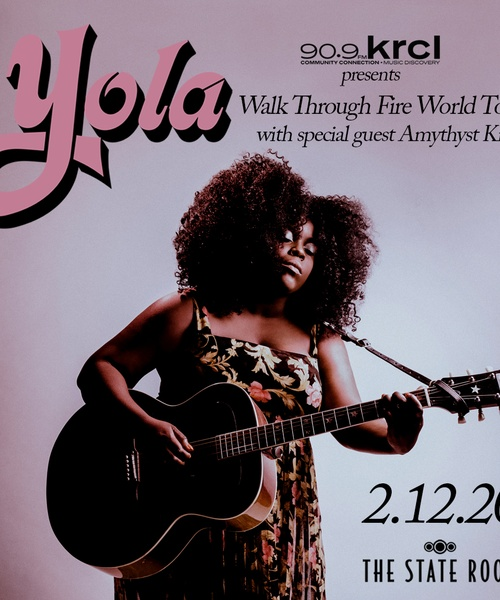 KRCL Presents: Yola at The State Room on Feb 12