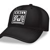 Baseball Cap - This black baseball cap with the KRCL spring design embroidered on it is available as a thank-you gift for a donation of $96 or more ($8/month)