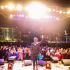 The National Parks on stage at The Gallivan Center          Photo Credit: David Newkirk